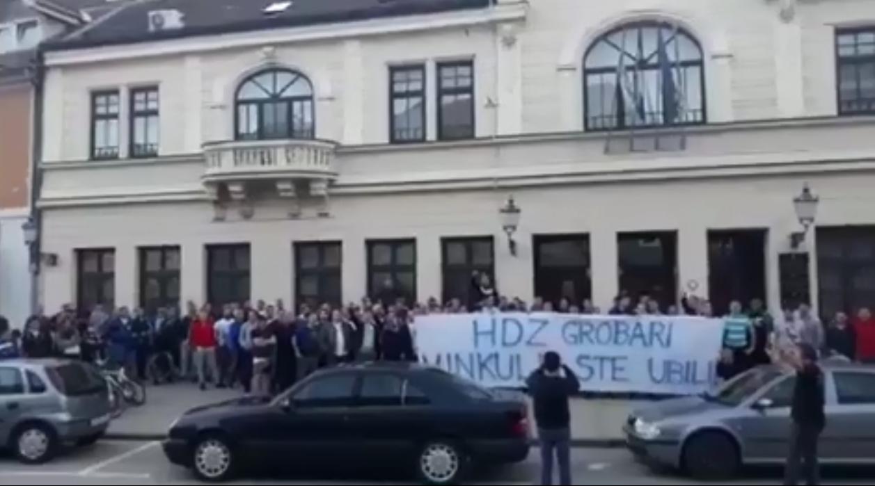 Ultrasi prosvjedovali za kolegu: HDZ, grobari, Vinkulju ste ubili