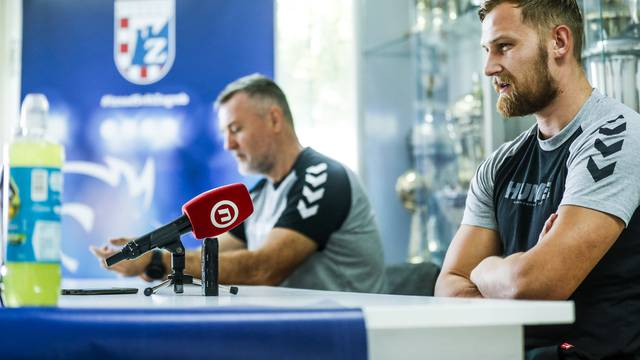 Zagreb: Konferencija za medije rukometnog kluba PPD Zagreb
