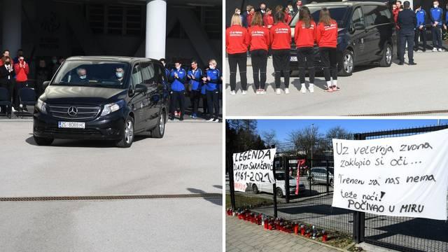 Pljesak i gorki plač odjekivali Koprivnicom: Igračice Podravke oprostile su se od svog trenera