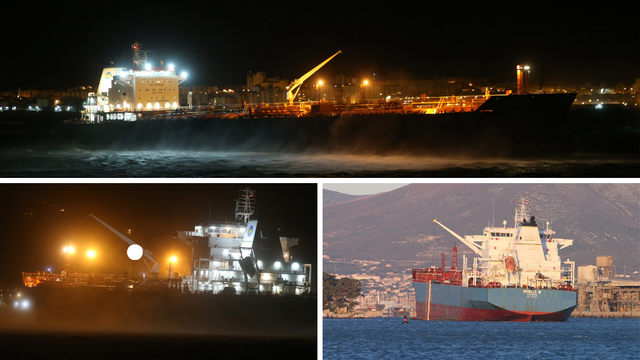 Nasukali se kod Solina: Tanker iz Italije doteglili su do Splita
