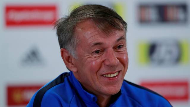 Euro 2020 Qualifier - Azerbaijan Press Conference