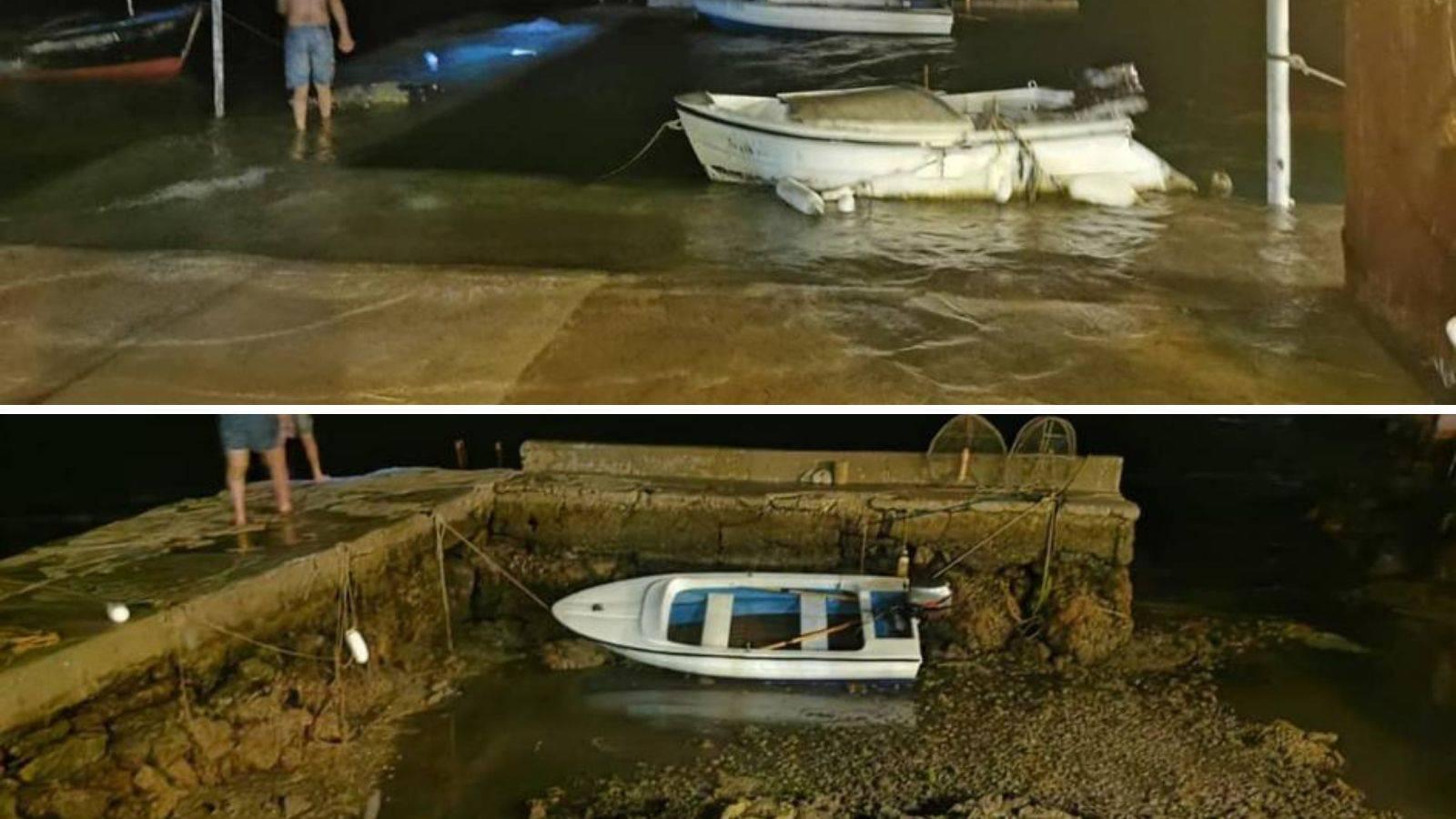 Pogledajte fotografije: 'Dignulo se more i zatim naglo povuklo'