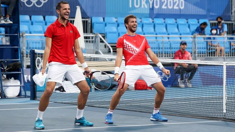 Mektić i Pavić osigurali hrvatski finale u Tokiju: Ovo se u tenisu nije dogodilo čak 113 godina!