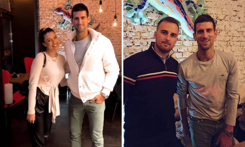 Na Baščaršiji vida rane: Đoković nakon Nadala došao u Sarajevo