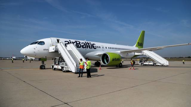 Zagreb: Prezentacija Airbusovog zrakoplova A220