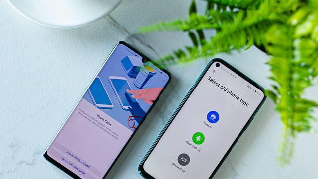 Jednostavno postavite svoj novi Huawei uz Phone Clone