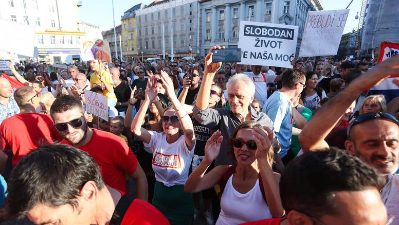 Festival slobode pretvorio se u raspištoljeni tulum antivaksera