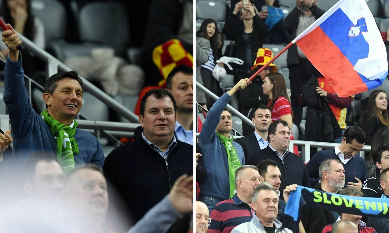 Kitarović s Pahorom navijao za Slovence: 'Velika gesta Jakova'