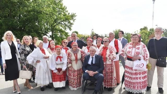 Zagreb: Gradončelnik uz suradnike obišao dovršen rotor u Remetincu na dan Grada Zagreba