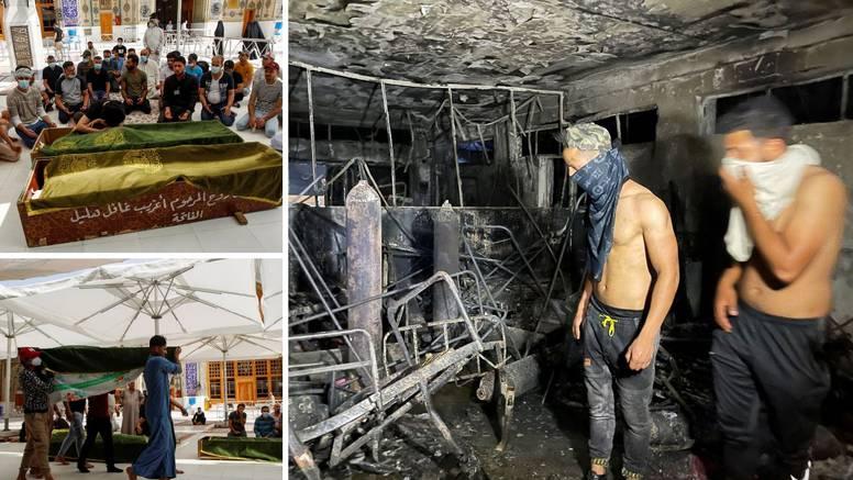 Strava u covid bolnici: Najmanje 82 mrtvih u Bagdadu, ljudi su skakali kroz prozore da se spase