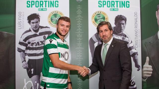 Sporting predstavio pojačanje iz Rijeke: 'San je igrati ovdje'