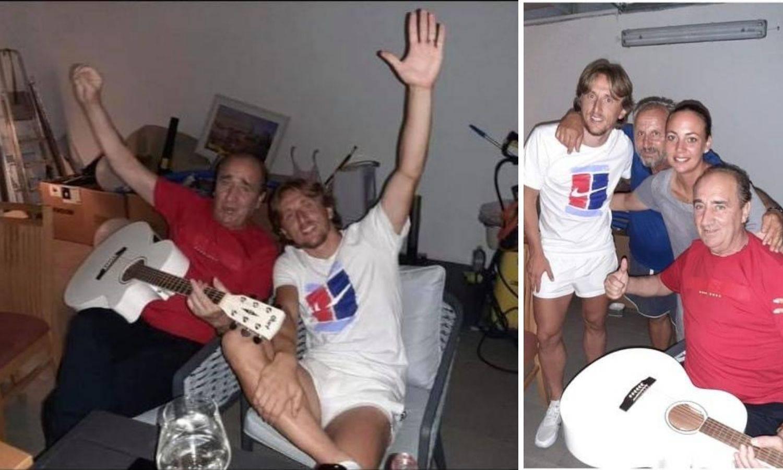Modrić i Grdi se zabavljali u Zadru: Pivali smo sve pisme i zvali Vrsaljka na mobitel!