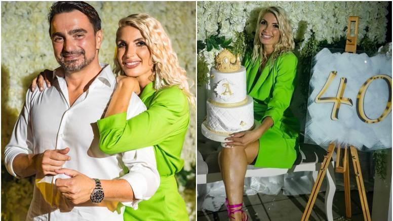 Jolina supruga Ana proslavila je svoj 40. rođendan na raskošnoj zabavi, čestitao joj i Halid Bešlić