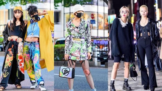 Japanski street style: Ekipa koja zna kako miješati razne stilove