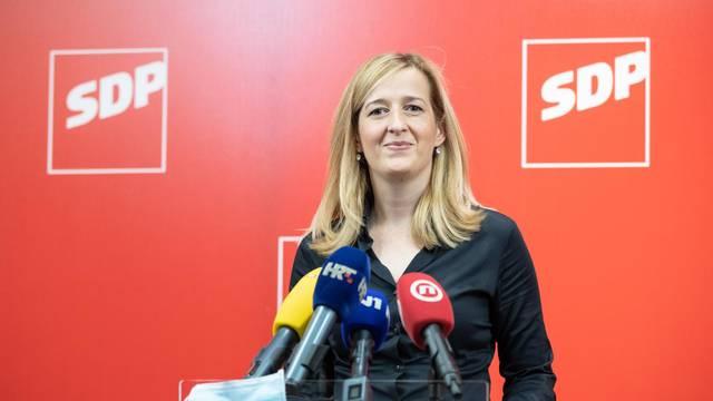 Zagreb: Mirela Ahmetović najavila je kandidaturu za predsjednicu SDP-a