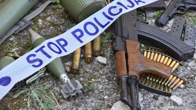 Oružje zaostalo iz Domovinskog rata