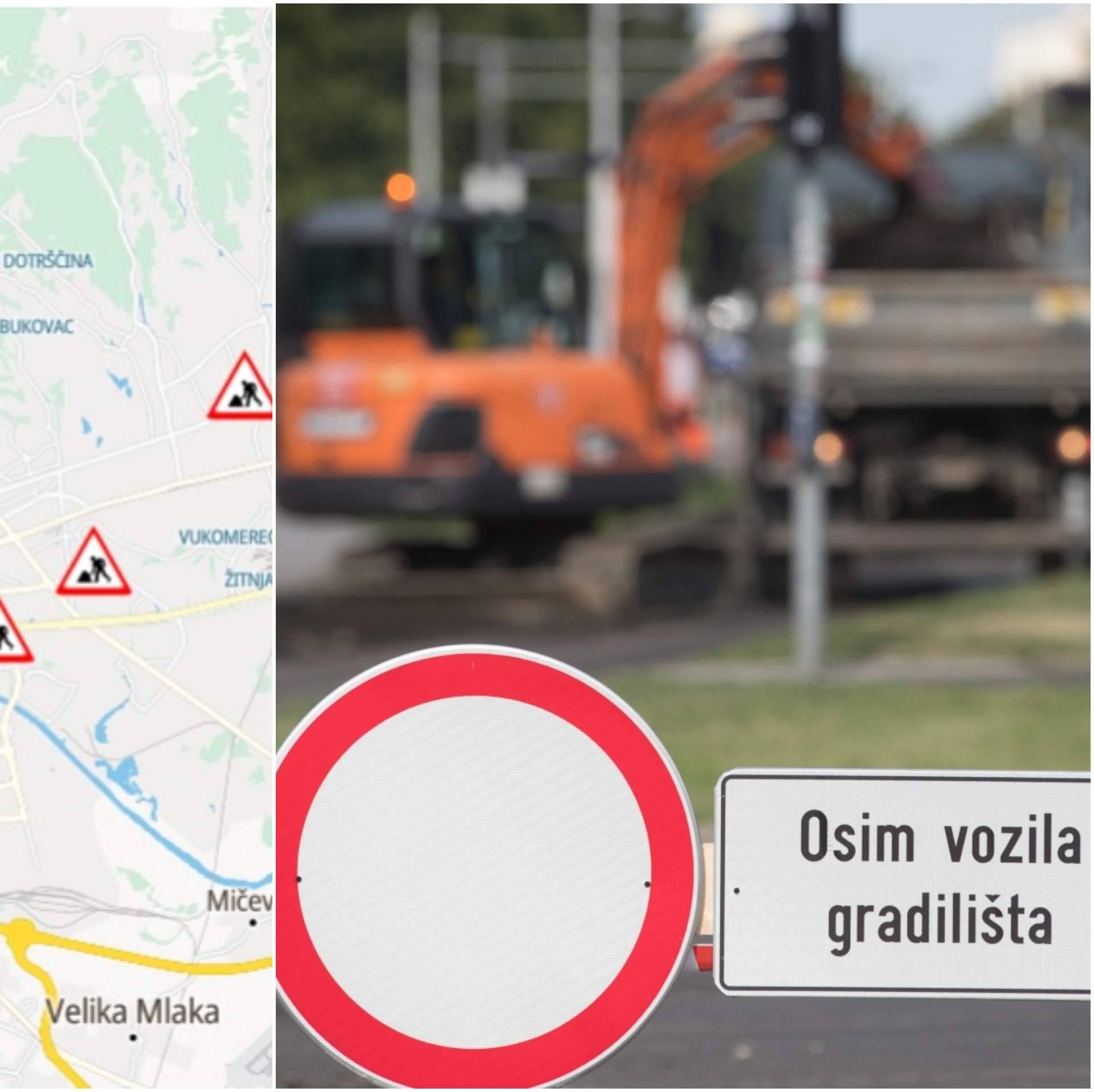 Zagreb je i ovo ljeto gradilište: Izbjegnite radove na cestama
