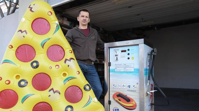 Izumio stroj koji za čas može napuhati luftmadrac za plažu