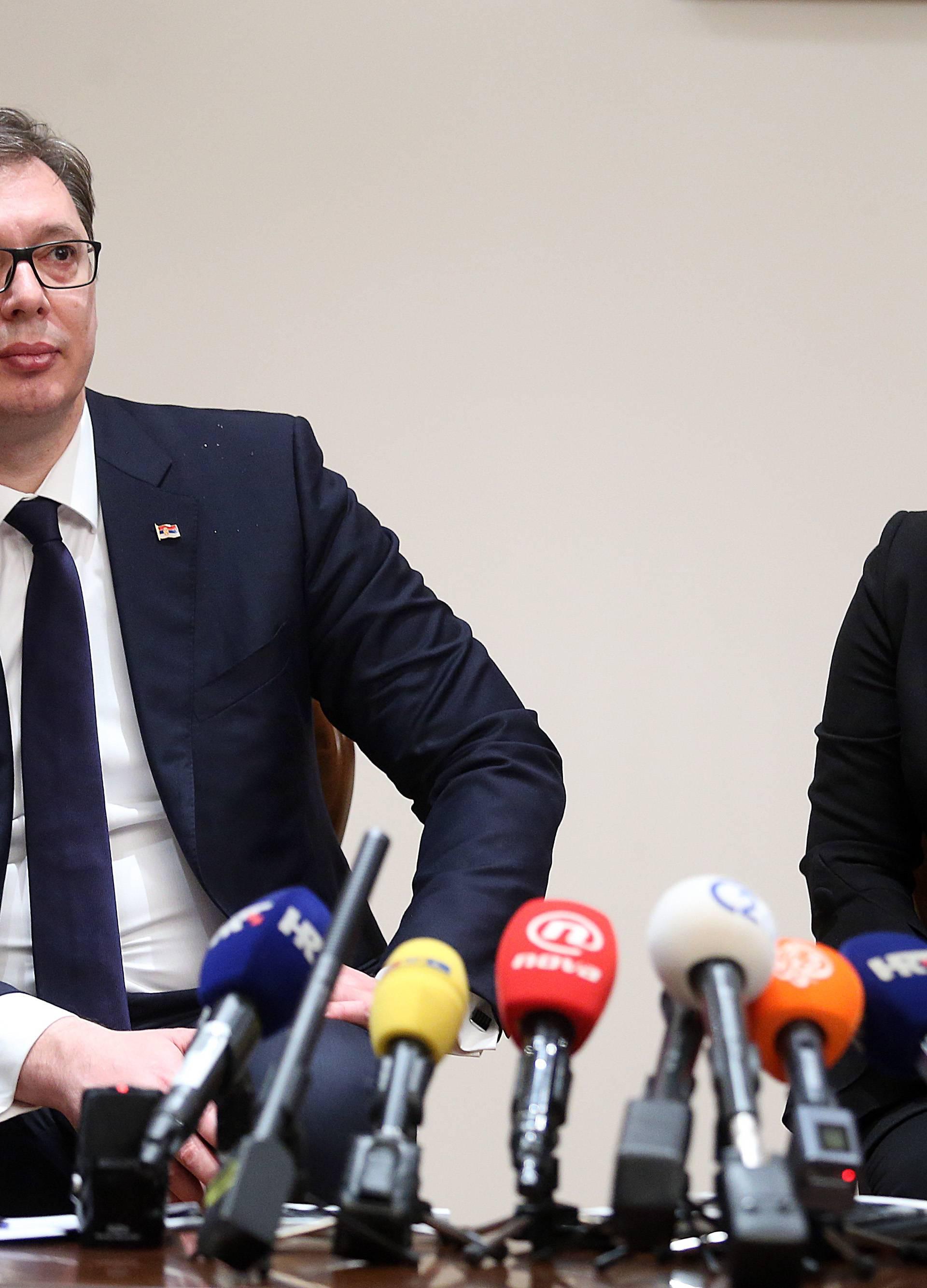 Srpski mediji o posjetu Vučića: Složni da se o ničemu ne slažu