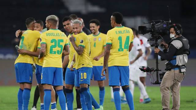 Copa America 2021 -  Semi Final - Brazil v Peru