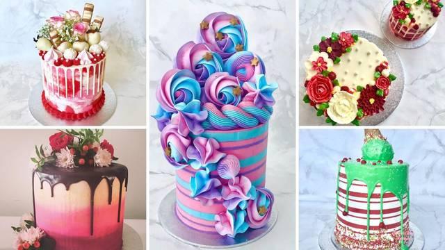 Pogledajte kakve torte radi ova žena - zbilja ima smisla za to