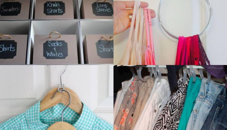 Za sve one koji imaju previše odjeće: Organizirajte svoj ormar