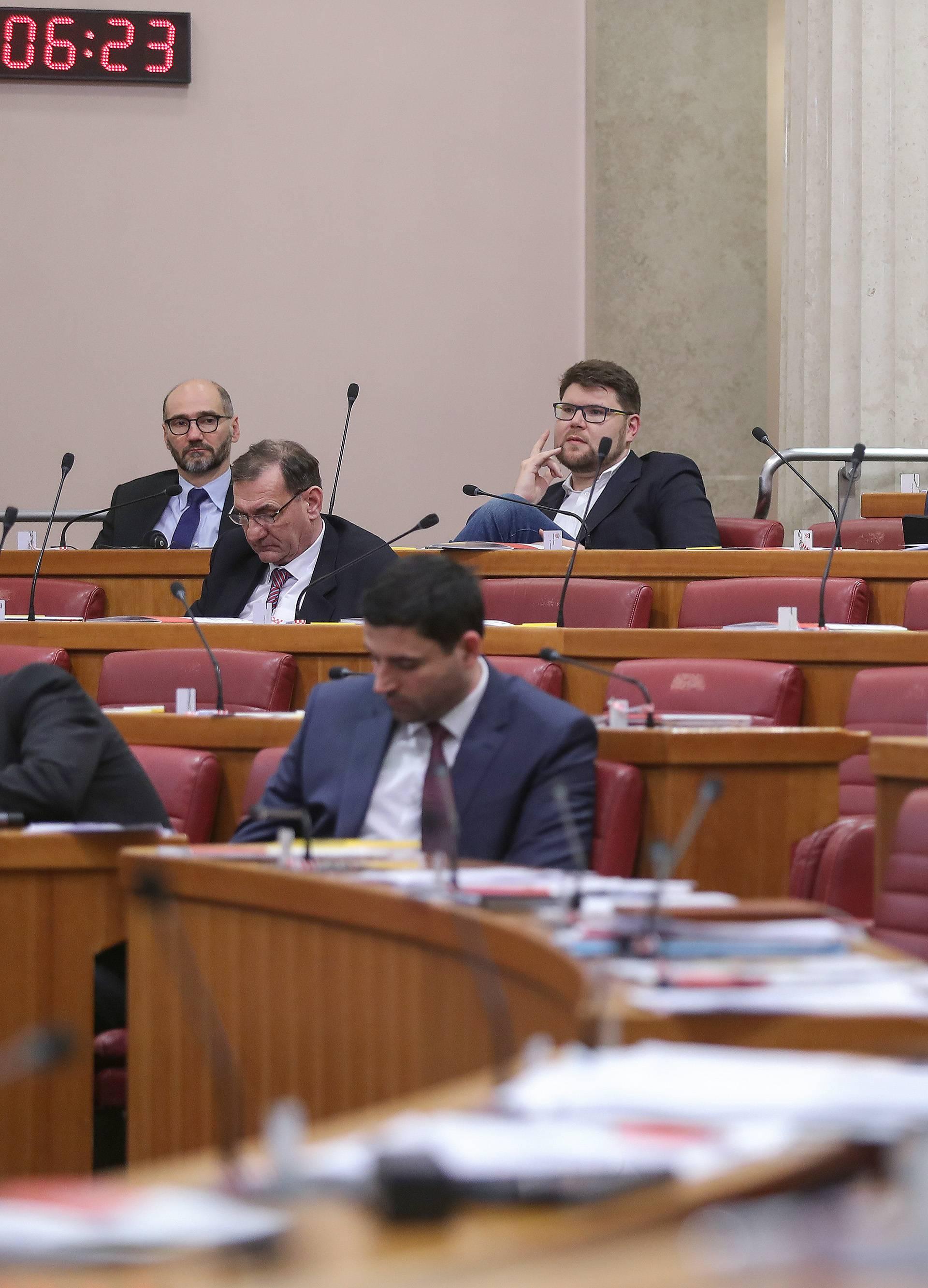 Zagreb: Ministrica Divjak na raspravi o njenom nepovjerenju