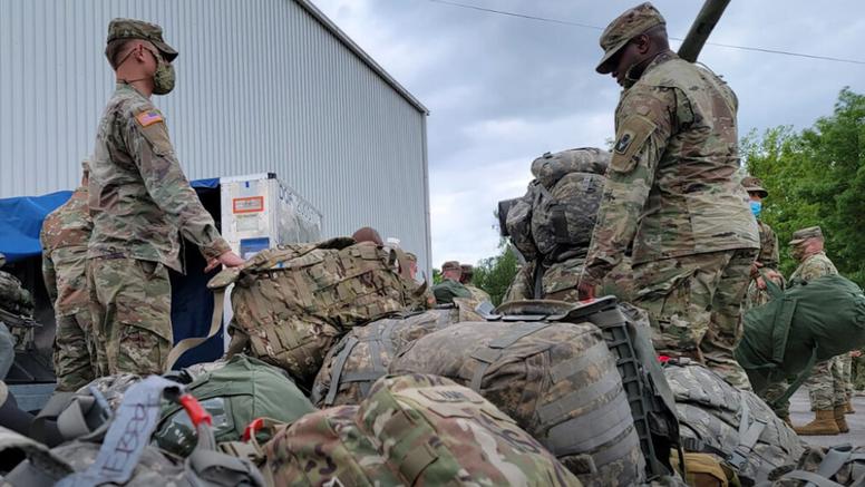 Američki topnici izmješteni su na vojni poligon kod Slunja