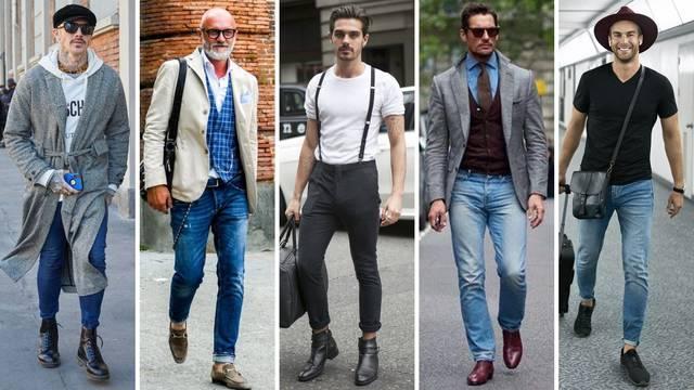 20 modnih ideja za muškarce koji obožavaju nositi traperice