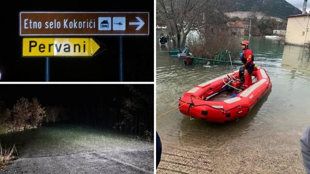 Pripremaju evakuaciju oko 50 mještana: 'Ne izlazim iz kuće, samo gledam vodu kako raste'