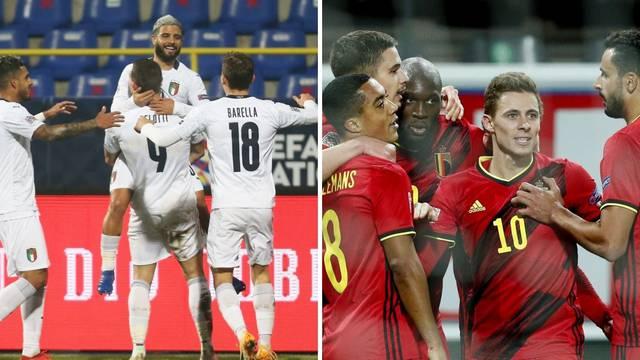 Belgija i Italija izborile završni turnir Lige nacija, BiH je ispala