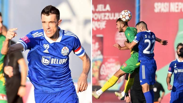 Krstanović 111. golom stigao Popovića, Istra do boda u zadnjoj sekundi u Koprivnici