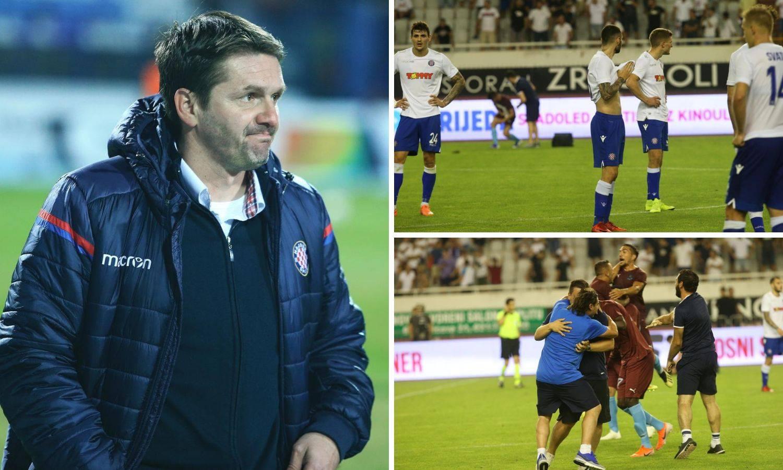 Hajduk je bio prevelik zalogaj za neiskusnog Oreščanina...