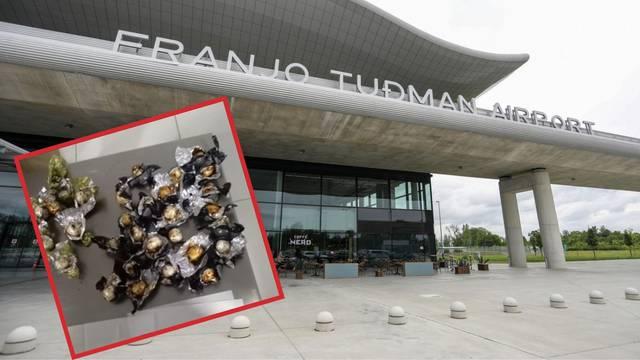 Brazilca (32) uhitili u Zračnoj luci Zagreb: Švercao kokain u bočicama i vrećicama bombona