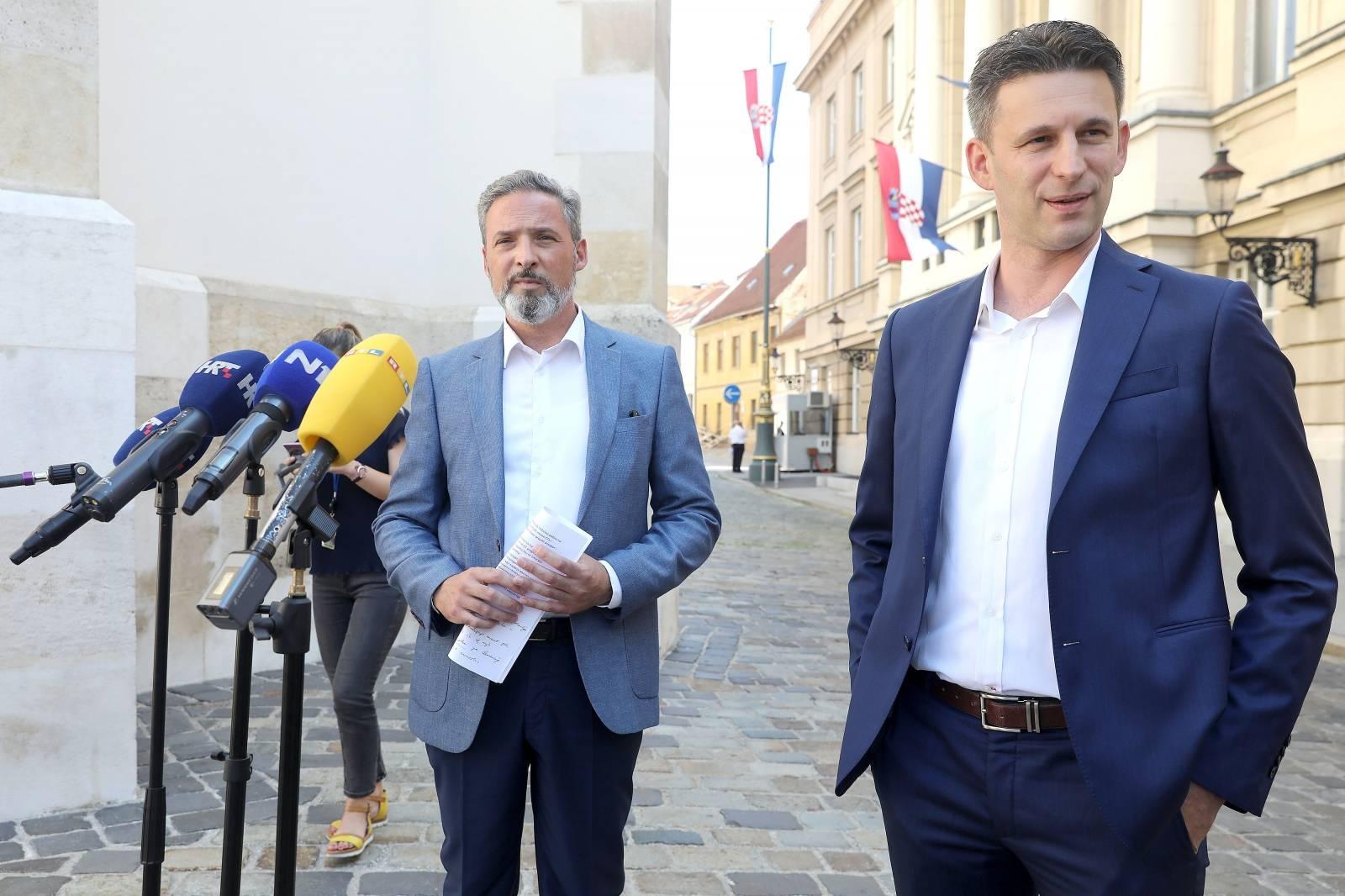 Zagreb: Konferencija za medije Mosta nezavisnih lista