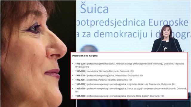 Muči je i hrvatski jezik: Šuica je napisala 'uspijeh' i 'svijetlo'
