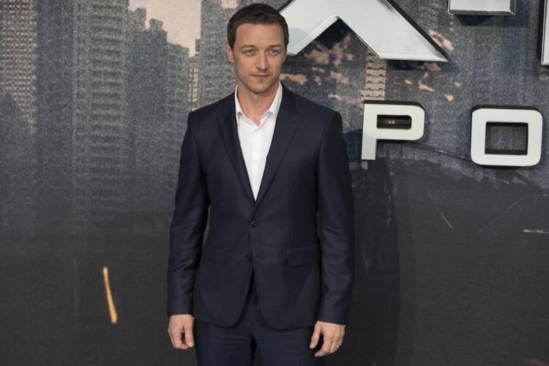 James McAvoy, Global Fan Screening Gala of X-MEN APOCALYPSE at BFI IMAX in London. 09/05/2016