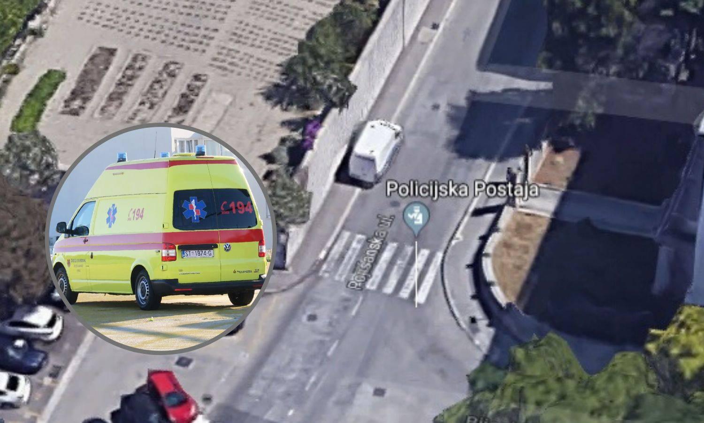 Policajac teško ozlijeđen: Taksi u Splitu udario ga je na zebri