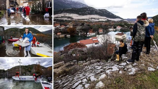 U Kokorićima zbog poplave 26 obitelji odsječeno: 'Kao da je nebo palo na zemlju, tužno...'