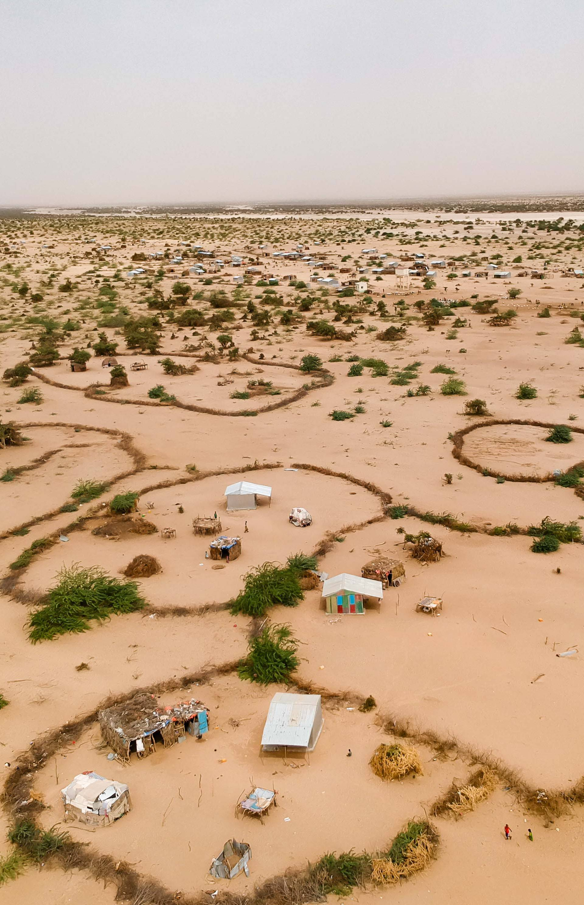 The Abdigeedi village, 100 miles northwest of Hargeisa in Somaliland and near the border with Djibouti