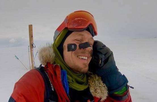 Prvi čovjek u povijesti koji je sam samcat prešao Antarktiku