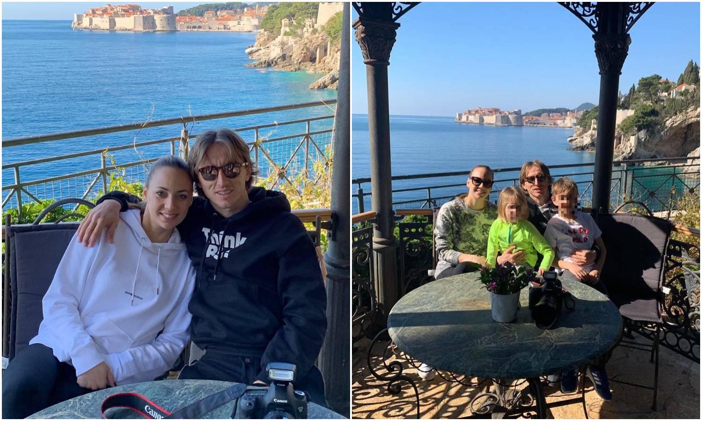 Na sunčanom odmoru: Obitelj Modrić uživa u Dubrovniku...