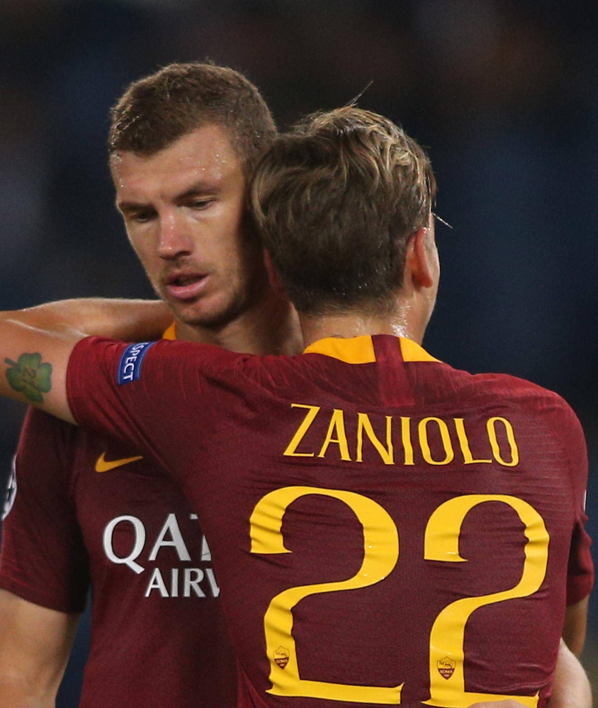 Uefa Champions League: AS Roma vs Roma vs Viktoria Plzeň.