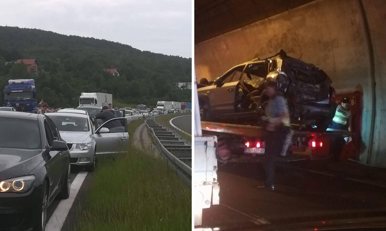 Sudarili se kamion i automobil u Maloj Kapeli, dvoje ozlijeđenih