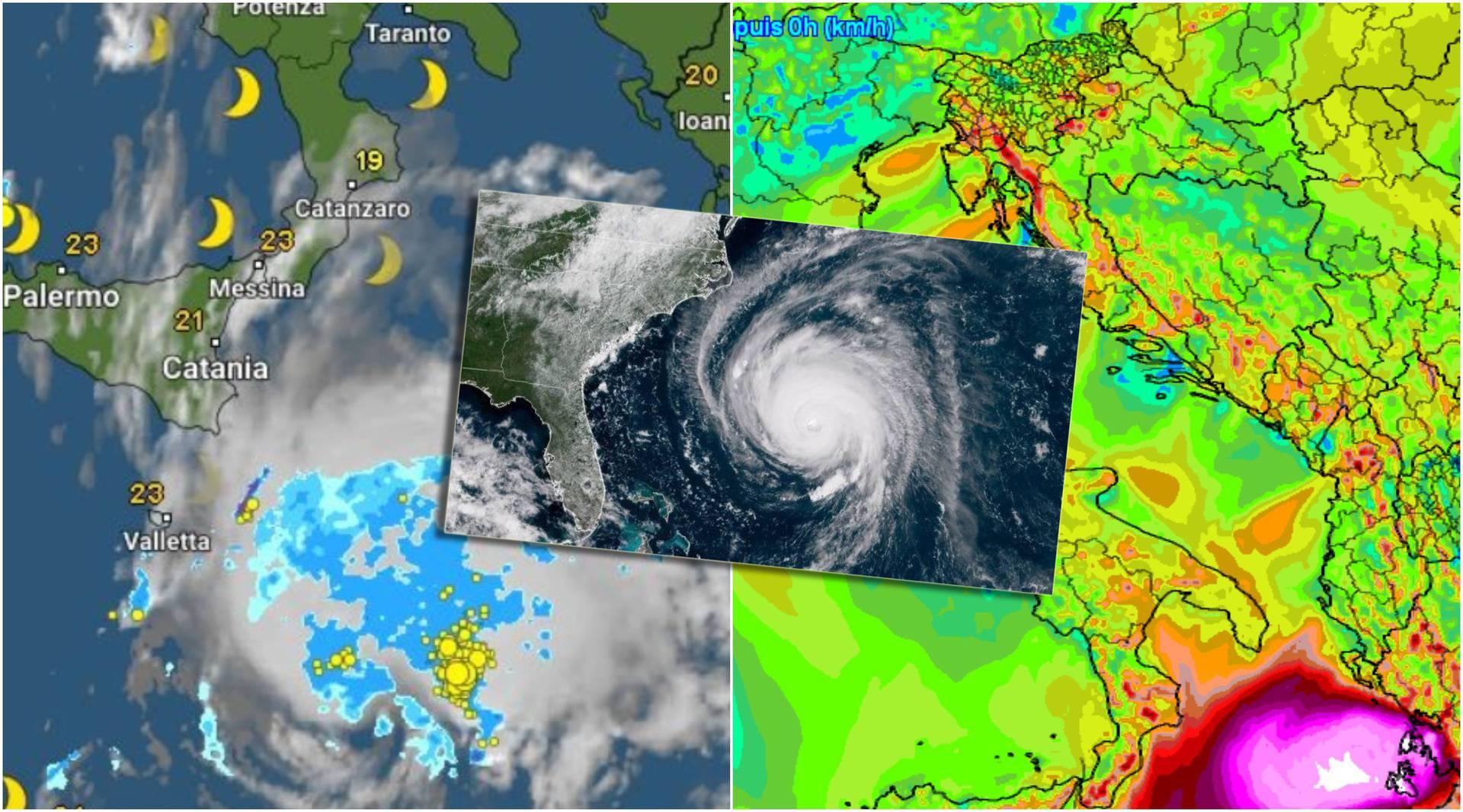 Dolazi Medicane: Mediteranski uragan donosi vjetrove i do 200 km/h, na udaru je Grčka