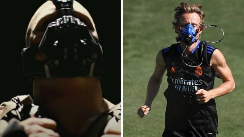 Inovativne metode pomoćnika Ancelottija u Valdebebasu: Luka Modrić kao Bane iz Batmana...