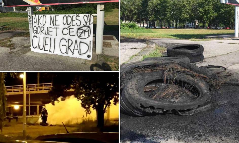 Opet gorjele gume u Zagrebu: Ako ne odeš sad, gorjet će grad