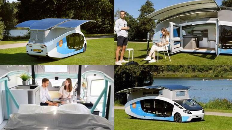 Eko život: Prva mobilna kućica na solarni pogon vozi čak 730 km prije sljedećeg punjenja