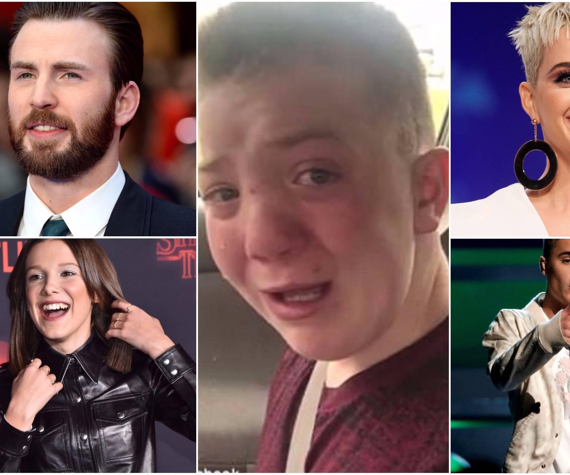 Justin Bieber i Katy Perry su podrška zlostavljanom dječaku