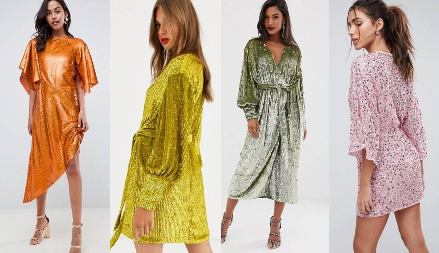 Slavne dame je obožavaju: Glitter haljina za noćne ptice